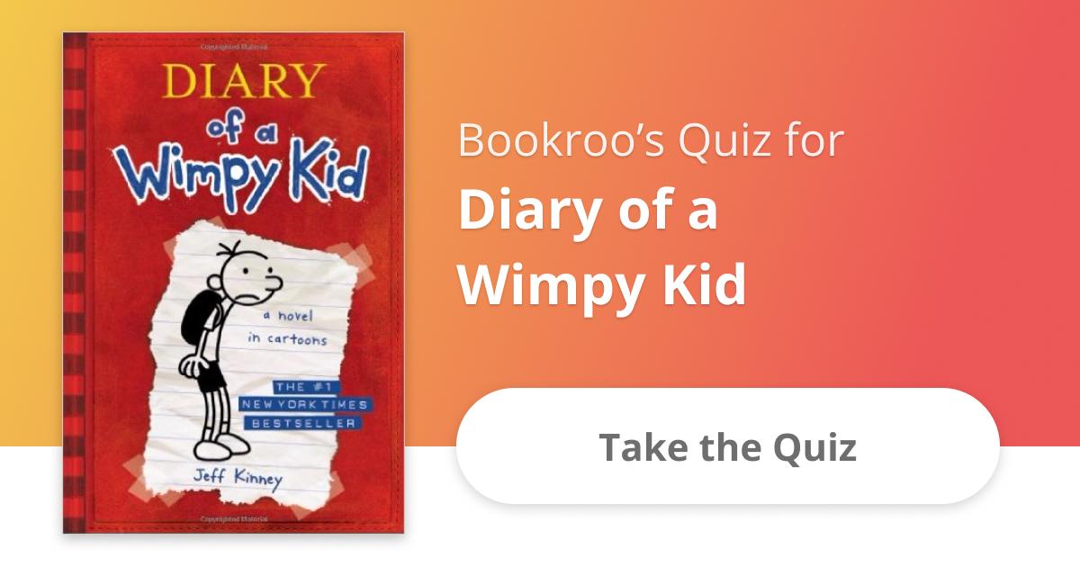 Diary of a wimpy kid book quiz bookroo solutioingenieria Choice Image